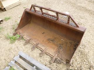 66 In. Skid Steer Digging Bucket