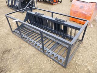 Unused TMG 72 In. Skid Steer Skeleton Bucket, Model TMG-SB72, SN BL2021050033