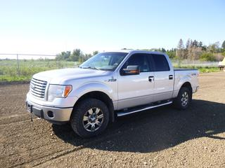 2012 Ford F-150 XLT Crew Cab 4X4 Pick Up c/w 5.0L, Showing 350,175 Kms, LT275/65R18 Tires at 60%, Rears at 50%, VIN 1FTFW1EF3CFA75501 *Note: Minor Scratches and Dents*