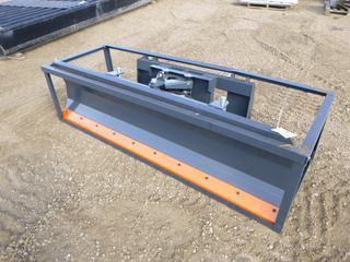 Unused TMG 86 In. Dozer Blade For Skid Steer, Model TMG-DB86, SN BL2021050505