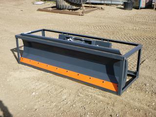 Unused TMG 86 In. Dozer Blade For Skid Steer, Model TMG-DB86, SN BL2021050503
