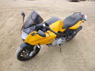 2008 BMW F800S Motorcycle c/w 21,172 Kms, ABS, Heated Grips, 120/70ZR17 Front Tire, 180/55ZR17 Rear Tire, VIN WB10216058ZP23709 *Note: Needs New Front Tire Air Pressure Sensor*