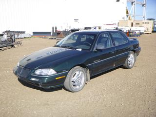 1995 Pontiac Grand Am c/w 3100 SFI V6, A/T, A/C, Showing 270,095 Kms, P205/55R16 Tires at 40% w/ Winter Tires and 2 Sets of Front Brake Pads and Rotors, VIN 1G2NE53M9SC798524
