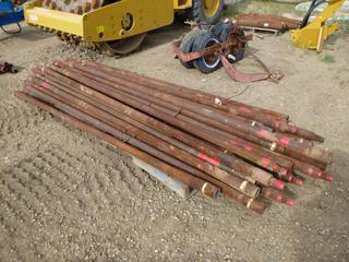 Qty of Drill Stem, 10Ft long, 2 5/8In Diameter