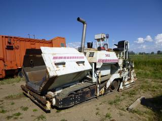 Terex 362 Paver c/w 5,326 Hours, 14 In. Tracks, SN 60331