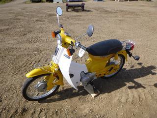 1982 Honda C70 Passport Motorcycle c/w 72ccm Single Cylinder, 7,337 Kms, VIN JH2DA0108CS210455 *Note: Running Condition As Per Consignor*