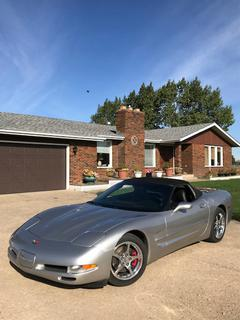 2004 Chevrolet Corvette Convertible C/w 5.7L V8, Showing 115,231 Kms, A/T, Leather, Heads Up Display, Bose Sound System, VIN 1G1YY32G045126514. *Located Off Site In Sturgeon County, For More Information Contact Connor At 780-218-4493*