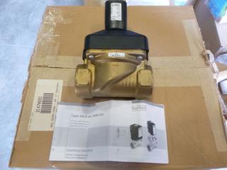 Burkert Fluid Control Systems 2/2-Way Solenoid Valve, Model 6213EV