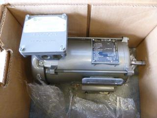 (1) Baldor Motor , Model L5004A, 1/2 HP