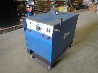 Miller SRH-333 DC Arc Welding Power Source c/w Input 208/230/460V, 64/58/29A 15 KW, 3 Phase, Rated Output 32V/300A at 60% Duty Cycle, SN HJ200729 *Note: Working Condition Unknown* (N-1-3)