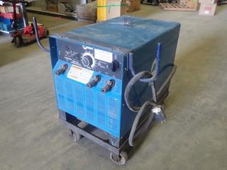 Miller SRH-333 DC Arc Welding Power Source c/w Input 208/230/460V, 64/58/29A 15 KW, 3 Phase, Rated Output 32V/300A at 60% Duty Cycle, SN KF805351 *Note: Working Condition Unknown* (N-1-2)
