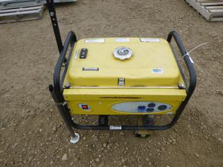 Powerfist Gas Generator, Model DE2500H, w/ 6.5 HP Powerfist Engine (Row 1-1)