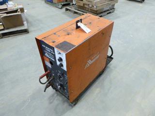 Ak-Matic 1200 DC Arc Welder, 200/230 V, Single-Phase, SN JF917927, Includes Cart For Bottle (N-1-3)