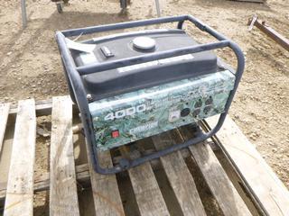 Champion 196 cc Generator, 4000 Starting Watts (Row 1-1)