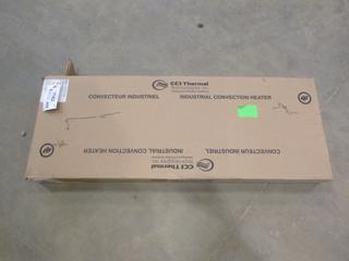 Unused Caloritech Electric Heater, 480V, 1 PH, 1 kw (R-3-1)