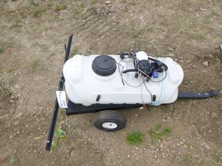15 Gal. Estate Sprayer, c/w Pump, Hose, Wires