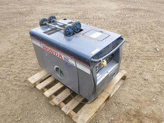 Honda EX5D Diesel Generator, Showing 822 Hours (Row 1-1)
