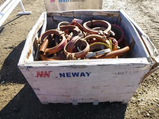Qty of Pipe Clamps, Different Sizes (NF-10)