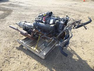Motor and Transmission *Note: Working Condition Unknown*  (NF-11)