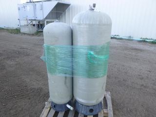 (2) Well Mate Water System Pressure Tanks, Model MW-UT-150, 75 PSI Operating Pressure, SN 14405470 (Row 1-1)