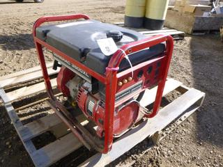Generac 3500XL Generator, Model 09441-1, 120V, 1 Phase, 29.25/14.6A, S/N 1178453 *Note: Running Condition Unknown* (Row 1-1)