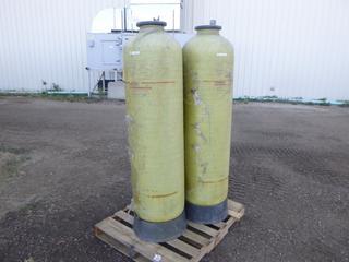 (3) Fiberglass Storage Tanks, 150 Lbs. (Row 1-1)