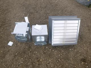(2) Thermo Zone Heaters, Model  FC-ZON-8-6240, 1 Phase, 240V, 25A, 6 Kw, (1) Canarm Wall Mounted Fan, Model S16-E1 (Row 2-3)