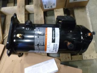 Copeland Service Compressor, Model ZF/5K43-PFV-931, 208/230V, 1 Phase, 60 HZ, S/N 21A7418AD (Row 1-1)