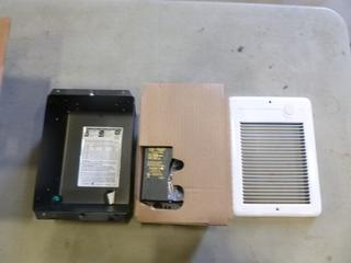 Com-Pak, Heater, Model C5152, 1500W, 240V, 60HZ, 6.3/5.4A (A2)