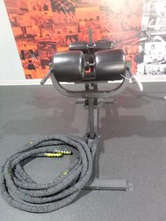 Glute Ham Developer Machine C/w Weight Rope