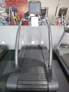 Woodway 120V Treadmill *Note: Left Side Dips On Track, Working Condition Unknown*