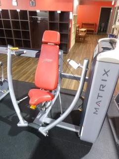 Matrix Chest Press Machine