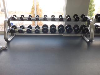 Matrix Weight Rack C/w 5lb-40lb Weights