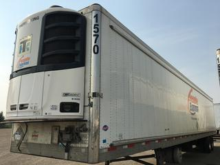 2017 Utility 53' T/A Refrigerated Van Trailer c/w Thermo King Reefer, Air Ride, Sliding Axle, Unit # 1570, VIN 1UYVS2538H2950011.