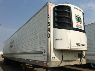 2016 Utility 53' T/A A/R 67617 Refrigerated Van Trailer c/w Thermo King Reefer, Air Ride, Sliding Axle, Unit # 1540, VIN 1UYVS2533GU621414, Reefer S/N 6001197041 Hours 26,918