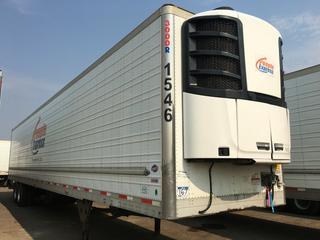2016 Utility 53' T/A Refrigerated Van Trailer c/w Thermo King Reefer, Air Ride, Sliding Axle, Unit # 1546, VIN 1UYVS2539GU621420.