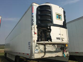 2016 Utility T/A Refrigerated Van Trailer c/w Thermo King Reefer, Unit # 1588, VIN 1UYVS2537GM380909.