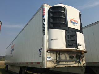 2016 Utility 53' T/A Refrigerated Van Trailer c/w Thermo King Reefer, Unit # 1590, VIN 1UYVS2533GM380924.