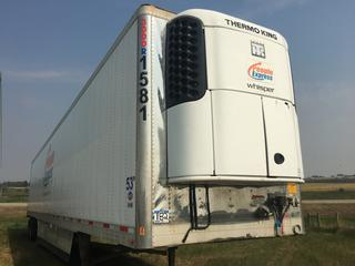 2015 Utility 53' T/A Refrigerated Van Trailer c/w Thermo King Reefer, Unit # 1581, VIN 1UYVS2530FM144214.