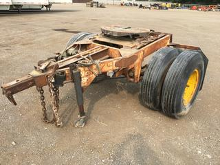 S/A Pintle Hitch Converter c/w 10:00R20 Tires, OBL3, Trailer # 81-129