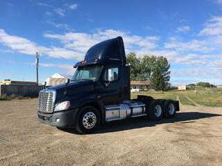 2013 Freightliner Cascadia T/A Truck Tractor c/w DD15, 18 Spd, Power Doors/Windows, 4 Way Locker, Unit 130113, VIN 1FUJGEDR7DSFB8825.
