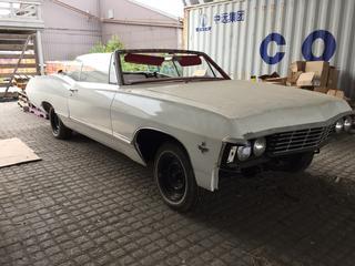 1967 Chev Impala Convertible Car c/w V8, Auto, Workshop Repair Manuals. VIN 1646771163191