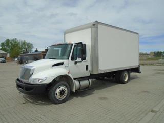 2011 International 4300 S/A Van Body c/w 7.6L L6 Diesel, Pull Out Ramp, Morgan 16' Van Body. Showing 359868 Miles, VIN 1HTMNAAL5BH324814.