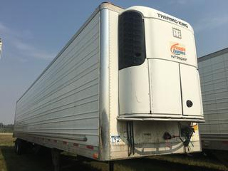 2014 Utility 53' T/A Refrigerated Van Trailer c/w Thermo King Reefer, Air Ride, Sliding Axle, Unit # 1514, VIN 1UYVS2534EU836619.