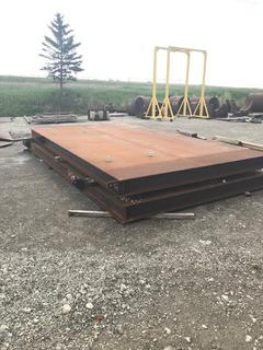 Selling Off-Site - One (1) New 6' x 20' Engineered Heavy Duty Oilfield Skid Located in Stettler, AB.