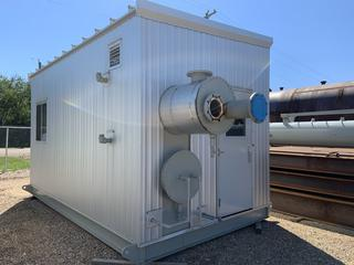 """Selling Off-Site - New 24"""" x 28' 1440psi Ab sour, 8 tray, Integral, 3 phase Dehy c/w 250,000 btu/hr Reboiler, Provisions for Kimray glycol pump, Provisions for BPCV. Located in Stettler, AB. Senior meter run"""