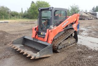 2019 Kubota SVL95-25 Compact Track Loader C/w V3800-CR Engine, Diesel, DEF, Aux Hyd, ISO Steering, Hyd Q/A, Kubota 80in Low Profile Digging Bucket And Jensen JHD910BT Bluetooth Stereo. Showing 231hrs. SN KBCC0953CK1K49637 *Note: 9 Months Left On Warranty, Warranty Can Be Transferred To New Purchaser As Per Owner*