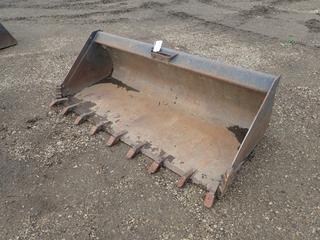 80in Digging Bucket To Fit Skid Steer