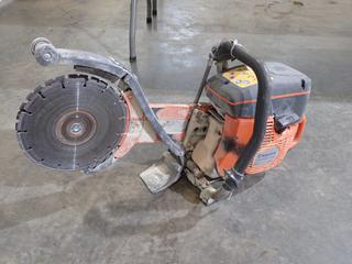 Husqvarna K760 12in Dual Blade Concrete Power Saw