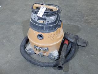 Ridgid WD14500 14Gal 120V Wet/Dry Shop Vac. SN 05061